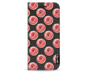 All The Donuts - Wallet Case Black Samsung Galaxy S8