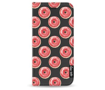 All The Donuts - Wallet Case Black Apple iPhone 7 / 8
