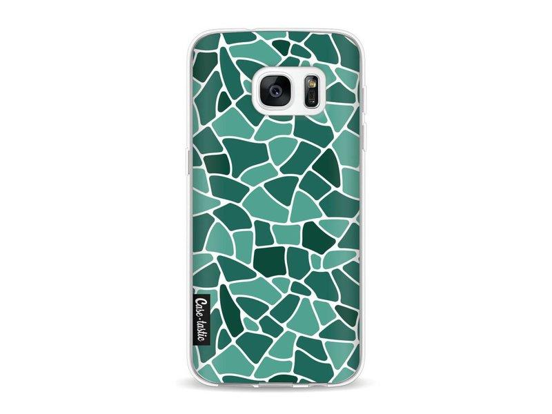 Casetastic Softcover Samsung Galaxy S7 - Aqua Mosaic