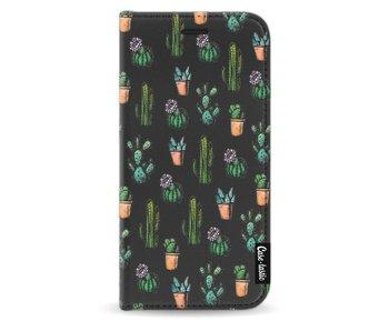 Cactus Dream - Wallet Case Black Samsung Galaxy J3 (2017)