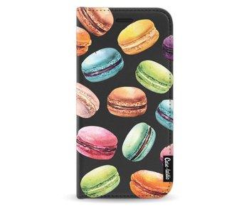 Macaron Mania - Wallet Case Black Samsung Galaxy J3 (2017)
