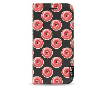 All The Donuts - Wallet Case Black Samsung Galaxy J3 (2017)