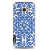 Casetastic Softcover Samsung Galaxy A3 (2017) - Blue White Folk Art