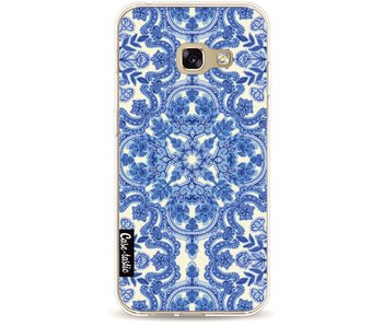 Blue White Folk Art - Samsung Galaxy A3 (2017)