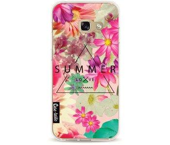 Summer Love Flowers - Samsung Galaxy A3 (2017)