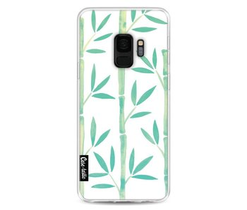Turquoise Bamboo Pattern - Samsung Galaxy S9