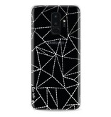 Casetastic Softcover Samsung Galaxy S9 Plus - Abstract Dotted Lines Transparent