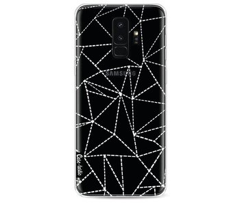 Abstract Dotted Lines Transparent - Samsung Galaxy S9 Plus