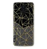 Casetastic Softcover Samsung Galaxy S9 Plus - Abstraction Half Half Transparent