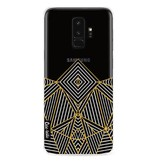 Casetastic Softcover Samsung Galaxy S9 Plus - Abstraction Half Transparent