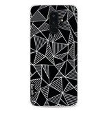 Casetastic Softcover Samsung Galaxy S9 Plus - Abstraction Lines Black