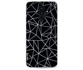 Abstraction Outline Black - Samsung Galaxy S9 Plus