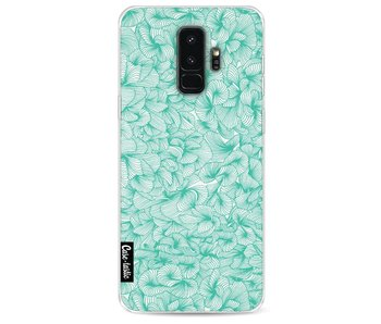 Abstract Pattern Turquoise - Samsung Galaxy S9 Plus