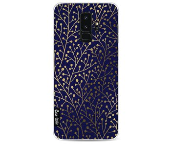 Berry Branches Navy Gold - Samsung Galaxy S9 Plus