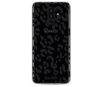 Leopard Print Black - Samsung Galaxy S9 Plus
