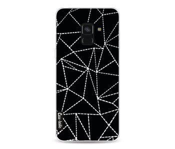 Abstract Dotted Lines Black - Samsung Galaxy A8 (2018)