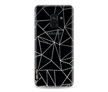 Abstract Dotted Lines Transparent - Samsung Galaxy A8 (2018)