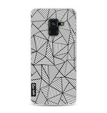 Casetastic Softcover Samsung Galaxy A8 (2018) - Abstraction Lines