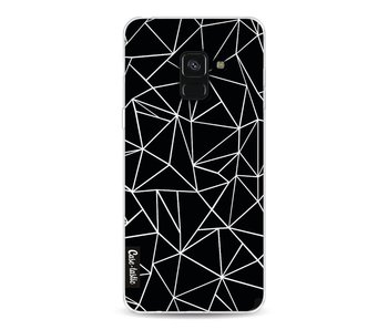 Abstraction Outline Black - Samsung Galaxy A8 (2018)