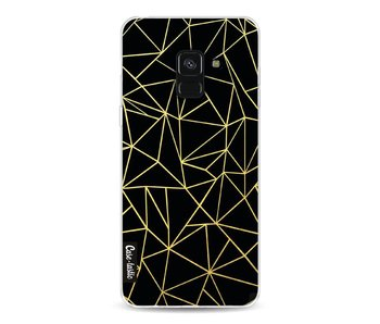 Abstraction Outline Gold - Samsung Galaxy A8 (2018)