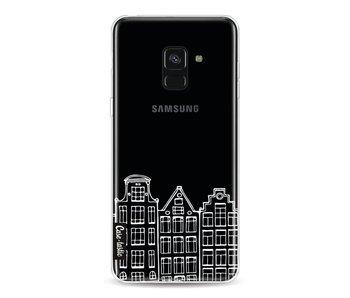 Amsterdam Canal Houses White - Samsung Galaxy A8 (2018)