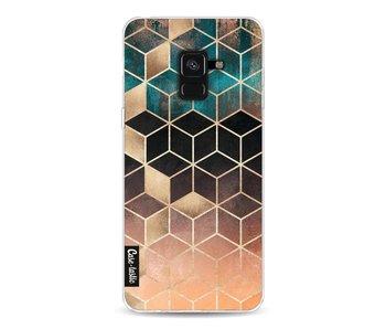 Ombre Dream Cubes - Samsung Galaxy A8 (2018)