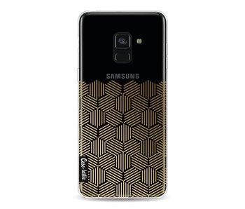 Golden Hexagons - Samsung Galaxy A8 (2018)