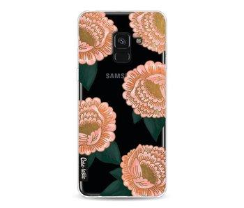 Winterly Flowers - Samsung Galaxy A8 (2018)