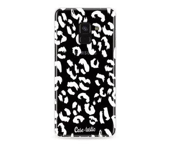 Leopard Print White - Samsung Galaxy A8 (2018)