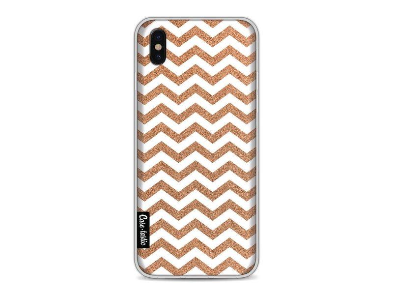 Casetastic Softcover Apple iPhone X - Copper Chevron