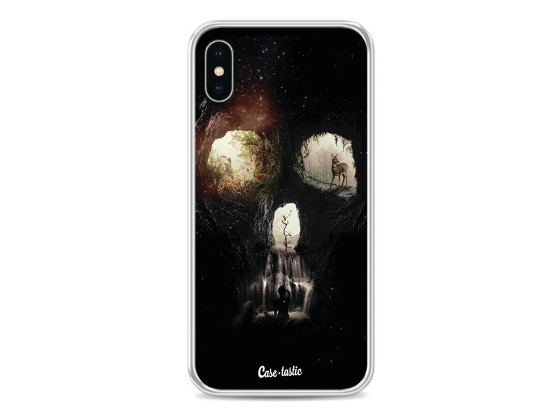 Casetastic Softcover Apple iPhone X - Cave Skull