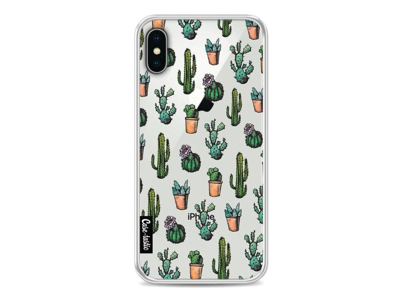 Casetastic Softcover Apple iPhone X - Cactus Dream