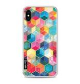 Casetastic Softcover Apple iPhone X - Bohemian Honeycomb