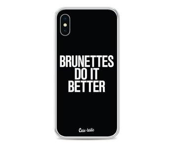 Brunettes Do It Better - Apple iPhone X