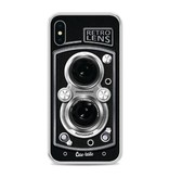 Casetastic Softcover Apple iPhone X - Camera Retro Lens