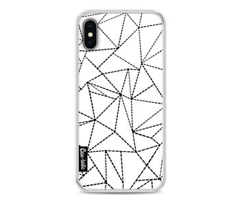 Abstract Dotted Lines - Apple iPhone X
