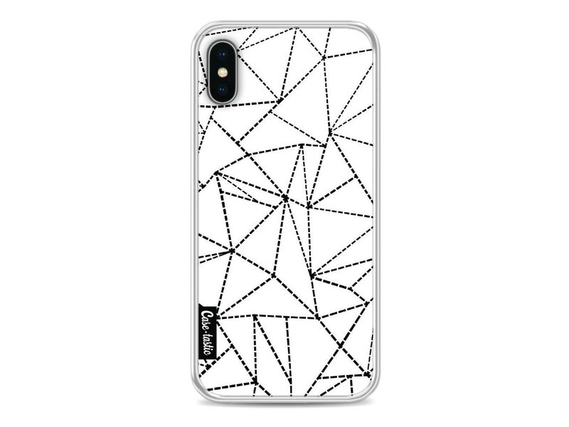 Casetastic Softcover Apple iPhone X - Abstract Dotted Lines