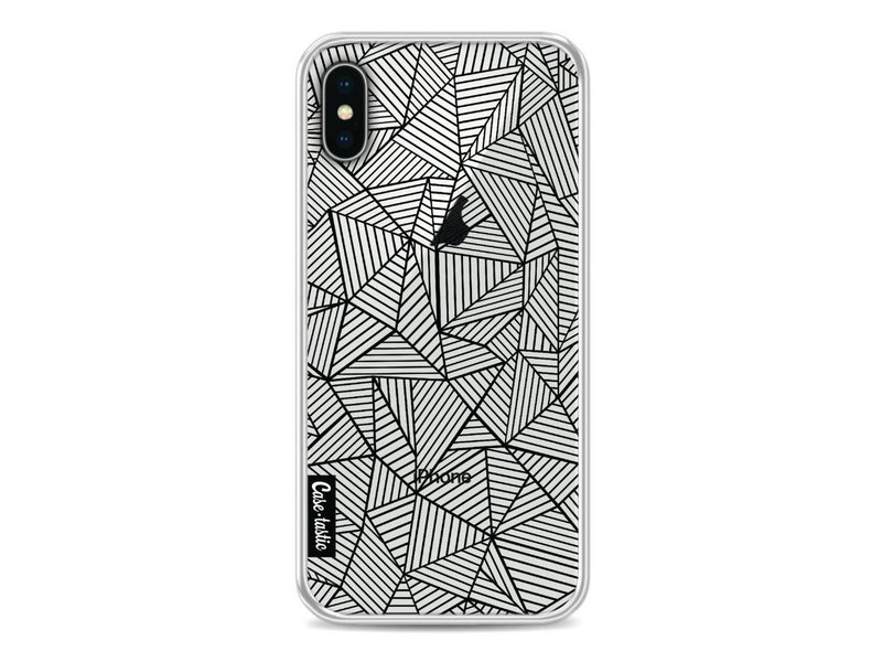 Casetastic Softcover Apple iPhone X - Abstraction Lines Transparent