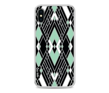 Art Deco Mint - Apple iPhone X
