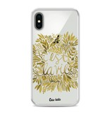 Casetastic Softcover Apple iPhone X - Cest La Vie Gold