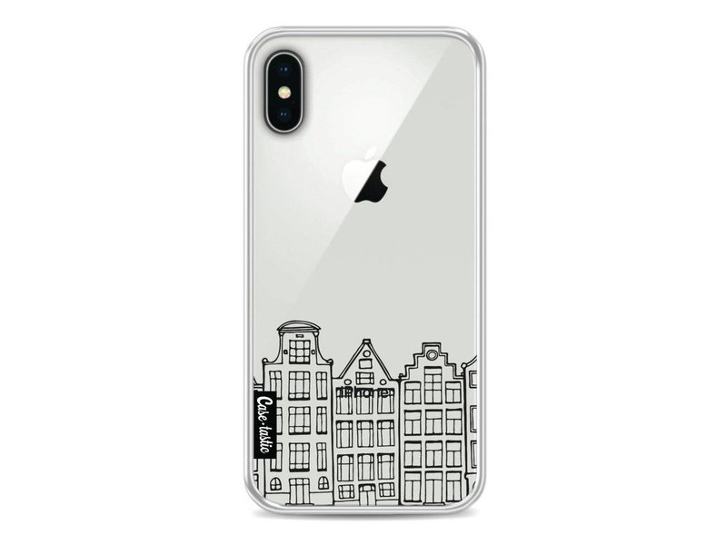 Casetastic Softcover Apple iPhone X - Amsterdam Canal Houses