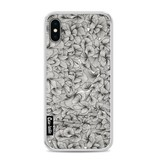 Casetastic Softcover Apple iPhone X - Abstract Pattern Black