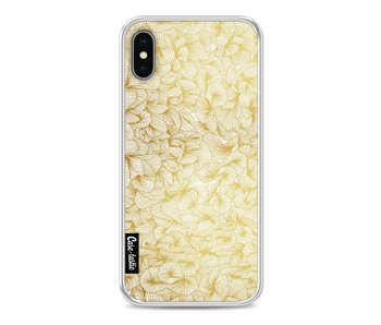 Abstract Pattern Gold - Apple iPhone X