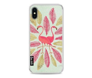 Flamingos Pink - Apple iPhone X
