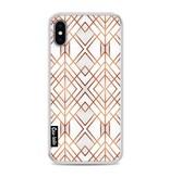 Casetastic Softcover Apple iPhone X - Copper Geo