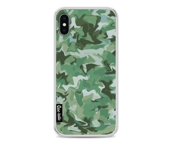 Army Camouflage - Apple iPhone X