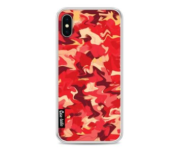 Fire Camouflage - Apple iPhone X