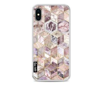 Blush Quartz Honeycomb - Apple iPhone X
