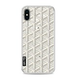Casetastic Softcover Apple iPhone X - Abstract Marble Transparent