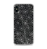 Casetastic Softcover Apple iPhone X - Abstract Marble Triangles